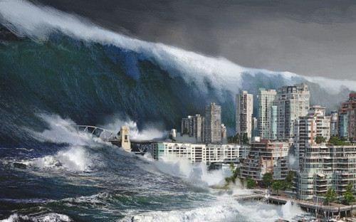 Nằm mơ thấy sóng thần là điềm báo gì, đánh con gì chắc ăn?