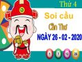 Soi cầu XSCT ngày 26/2/2020 – Soi cầu xổ số Cần Thơ thứ 4