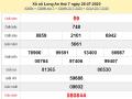 Soi cầu KQXSLA- xổ số long an thứ 7 ngày 01/08/2020