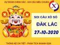 Soi cầu số đẹp SX Daklak thứ 3 ngày 27-10-2020