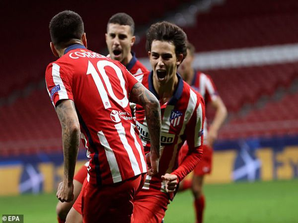 Tin bóng đá tối 28/10: Joao Felix tỏa sáng khiến Simeone phải khen hoàn hảo