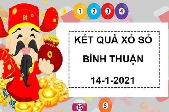 Soi cầu sổ xố Bình Thuận thứ 5 ngày 14/1/2021