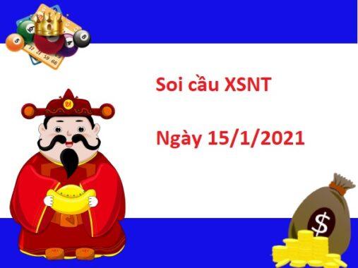 Soi cầu XSNT 15/1/2021 – Soi cầu xổ số Ninh Thuận thứ 6