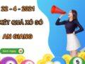 Soi cầu số đẹp xổ số An Giang thứ 5 ngày 22/4/2021