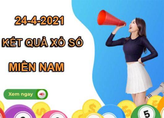 Soi cầu xổ số Miền Nam thứ 7 ngày 24/4/2021