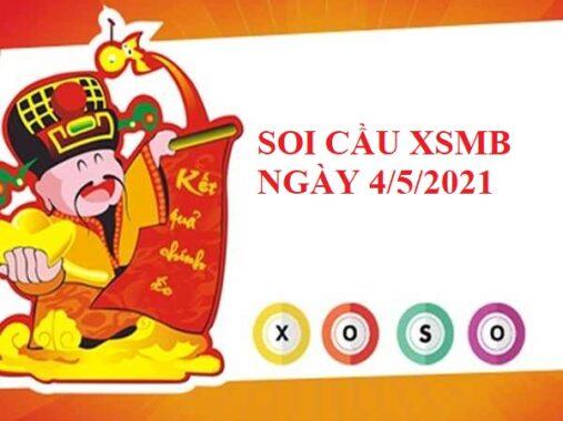Soi cầu lô VIP SXMB 4/5/2021 hôm nay