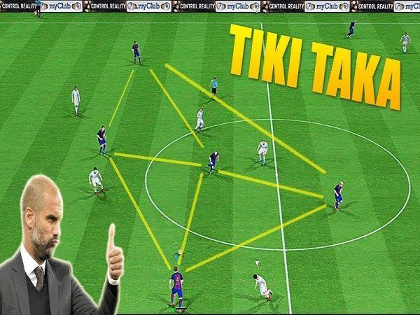 Tiki Taka là gì - Lịch sử hình lối chơi Tiki Taka trong bóng đá