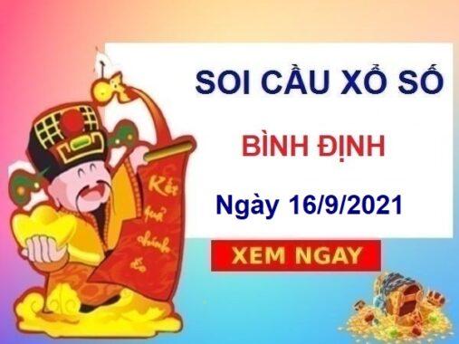 Soi cầu XSBDI ngày 16/9/2021 chốt số Bình Định thứ 5
